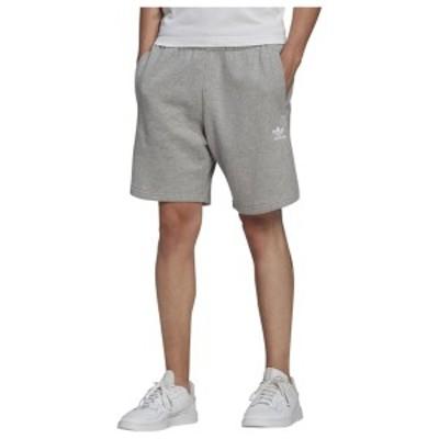アディダス メンズ ハーフパンツ・ショーツ ボトムス adidas Originals Essential Shorts Medium Grey Heather