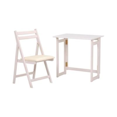 折りたたみテーブル&チェアセット デスク・机・ワークテーブル, Desks(ニッセン、nissen)