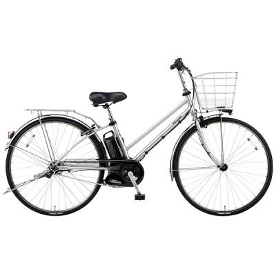 PANASONIC BE-ELDT756-S2 モダンシルバー ティモ・DX [電動アシスト自転車(27インチ・内装5段)] 電動自転車