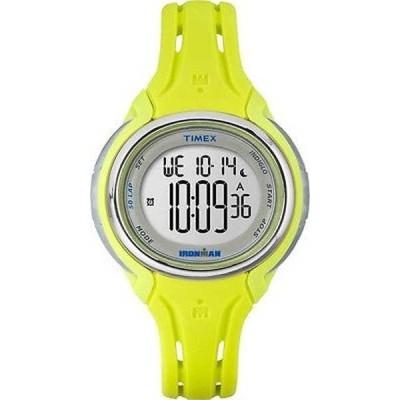 腕時計 タイメックス Timex TW5K97700 Ironman レディース イエロー Sleek 50 Lap アラーム クロノグラフ スポーツ 腕時計