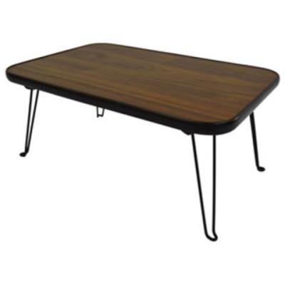 大竹産業 折りたたみスクエアテーブル 角型 長方形 45×30cm(ブラウン)  OTG-A06 【返品種別A】