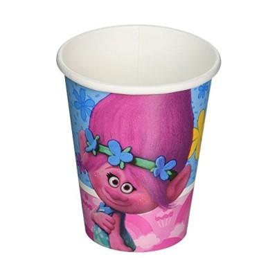 海外より出荷【並行輸入品】Trolls 9?oz Cups ( 8?Count )+++++++++++米出荷後キャンセル手数料30%