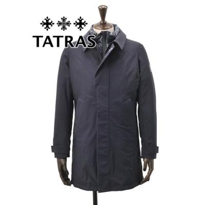 タトラス  TATRAS 国内正規品 メンズ ダウンジャケット FAVONIO ファヴォーニオ ネイビー ストレッチナイロン ダウンコート でらでら 公式ブランド