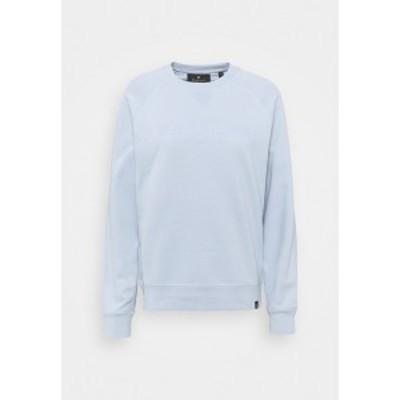 ベルスタッフ レディース パーカー・スウェットシャツ アウター ENGLAND RAGLAN - Sweatshirt - chalk blue chalk blue