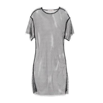 リビアナ コンティ LIVIANA CONTI ミニワンピース&ドレス ブラック S ナイロン 95% / ポリウレタン 5% ミニワンピース&ドレス