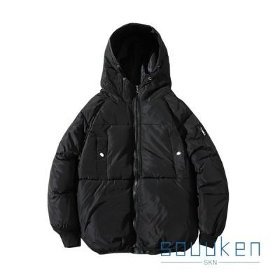 ダウンジャケット 中綿コート メンズ S-3XL 大きいサイズ フード付き 冬 厚手 防風 防寒 暖かい 通勤 通学 登山 アウトドア