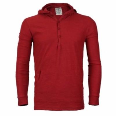 Royal  ファッション トップス Royal Knight Mens Long Sleeve Lightweight Slim Fit Pullover Henley Shirt Hoodie