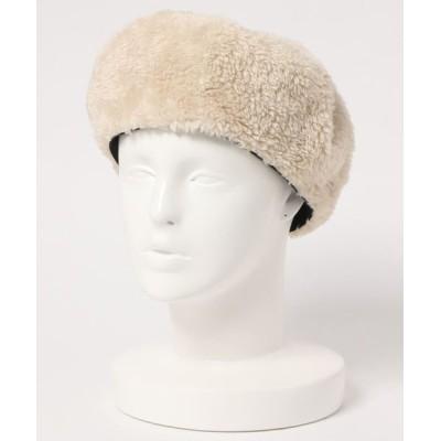 U.Q / ファーベレー帽 WOMEN 帽子 > ハンチング/ベレー帽