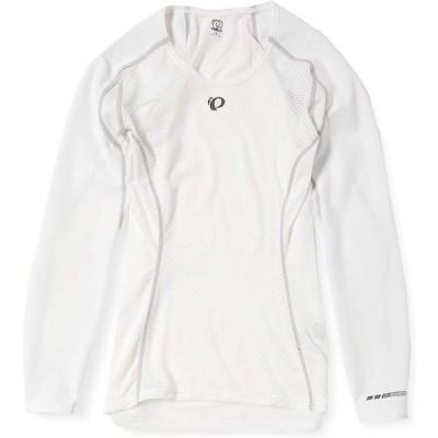 [パールイズミ] プレミアム アンダー ロングスリーブ W108 レディース ホワイト S