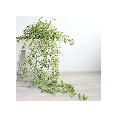 【BlueBOARD】フェイクグリーン 造花グリーン 観葉植物 フェイクグリーン 造花藤 緑 葉 壁掛け 天井 壁 吊り下げ インテリア アンティーク