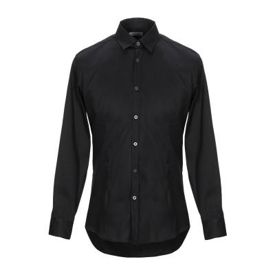 ダニエレ アレッサンドリーニ オム DANIELE ALESSANDRINI HOMME シャツ ブラック 39 コットン 97% / ポリウレタン