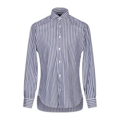 BARBA Napoli シャツ ブルー 39 コットン 100% シャツ