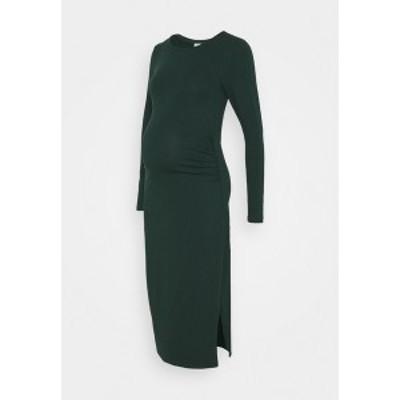 アンナ フィールド ママ レディース ワンピース トップス Jersey dress - dark green dark green