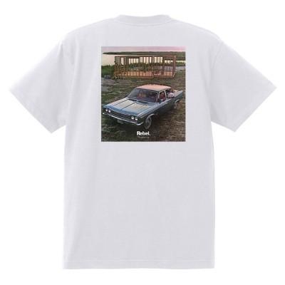 アドバタイジング AMC Tシャツ 1970 黒地に変更可 ジャベリン ホーネット アンバサダー AMX レベル アメ車 ホットロッド 3311