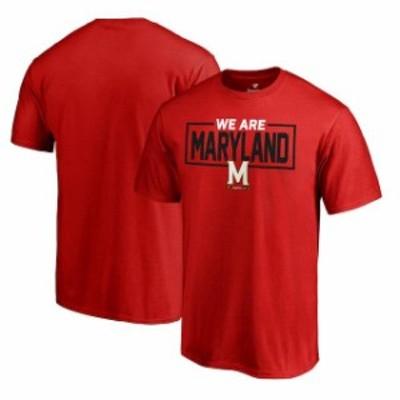 Fanatics Branded ファナティクス ブランド スポーツ用品  Fanatics Branded Maryland Terrapins Red Big & Tall We Are Icon T-Shirt