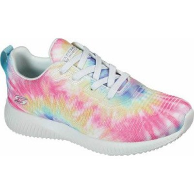 スケッチャーズ レディース スニーカー シューズ Women's Skechers BOBS Squad Color Flex Sneaker Multi Knit