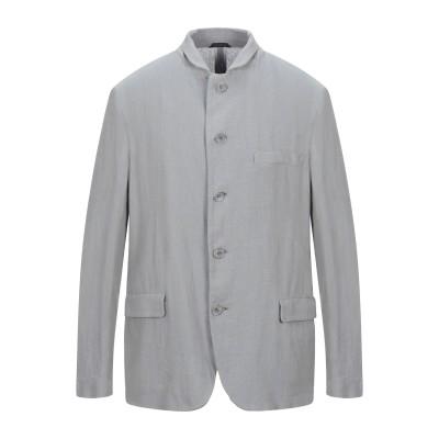 ジョルジオ アルマーニ GIORGIO ARMANI テーラードジャケット グレー 56 リネン 100% テーラードジャケット