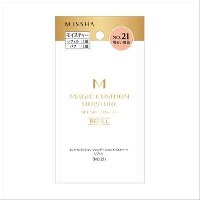 ミシャジャパン ミシャ M クッション ファンデーション(モイスチャー)レフィル No.21