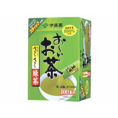 お~いお茶 さらさら緑茶 100杯分 伊藤園 12120