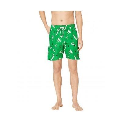 U.S. POLO ASSN. USポロ メンズ 男性用 スポーツ・アウトドア用品 水着 Sailboat Swim Shorts - Court Green