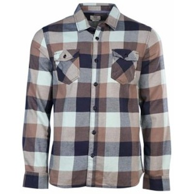 Vans バンズ ファッション アウター Vans Off The Wall Mens Box Long Sleeve Plaid Flannel Shirt
