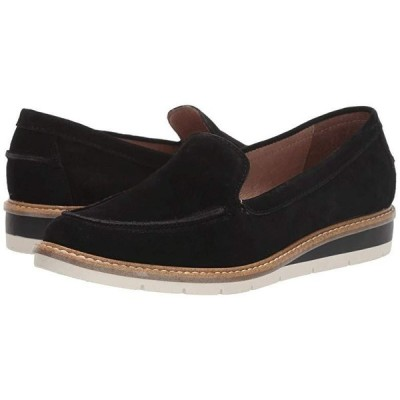 Me Too Athens レディース ローファー Black Suede