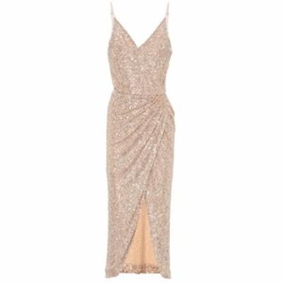 ジョナサン シンカイ Jonathan Simkhai レディース パーティードレス ワンピース・ドレス Sequined dress Gold