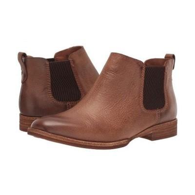 Kork-Ease コークイーズ レディース 女性用 シューズ 靴 ブーツ チェルシーブーツ アンクル Kama - Brown Full Grain Leather