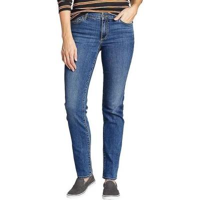 エディー バウアー レディース カジュアルパンツ ボトムス Eddie Bauer Travex Women's Voyager Mid Rise Slim Fit Pant