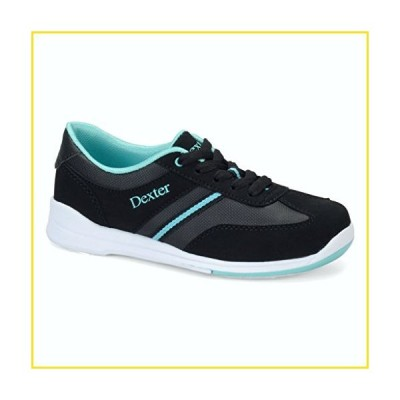 新品Dexter Dani Bowling Shoes, Black/Turquoise, 11.0並行輸入品