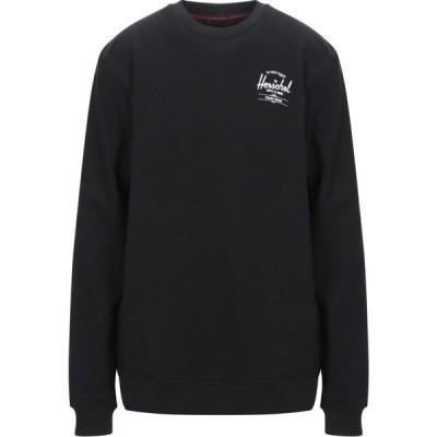 ハーシェル サプライ HERSCHEL SUPPLY CO. メンズ スウェット・トレーナー トップス sweatshirt Black