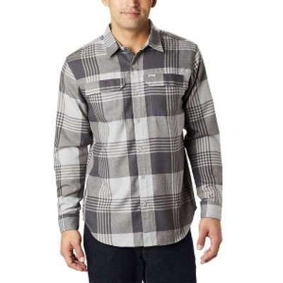 コロンビア メンズ シャツ トップス Columbia Men's Silver Ridge 2.0 Flannel Shirt Columbia Grey Buffalo Plaid