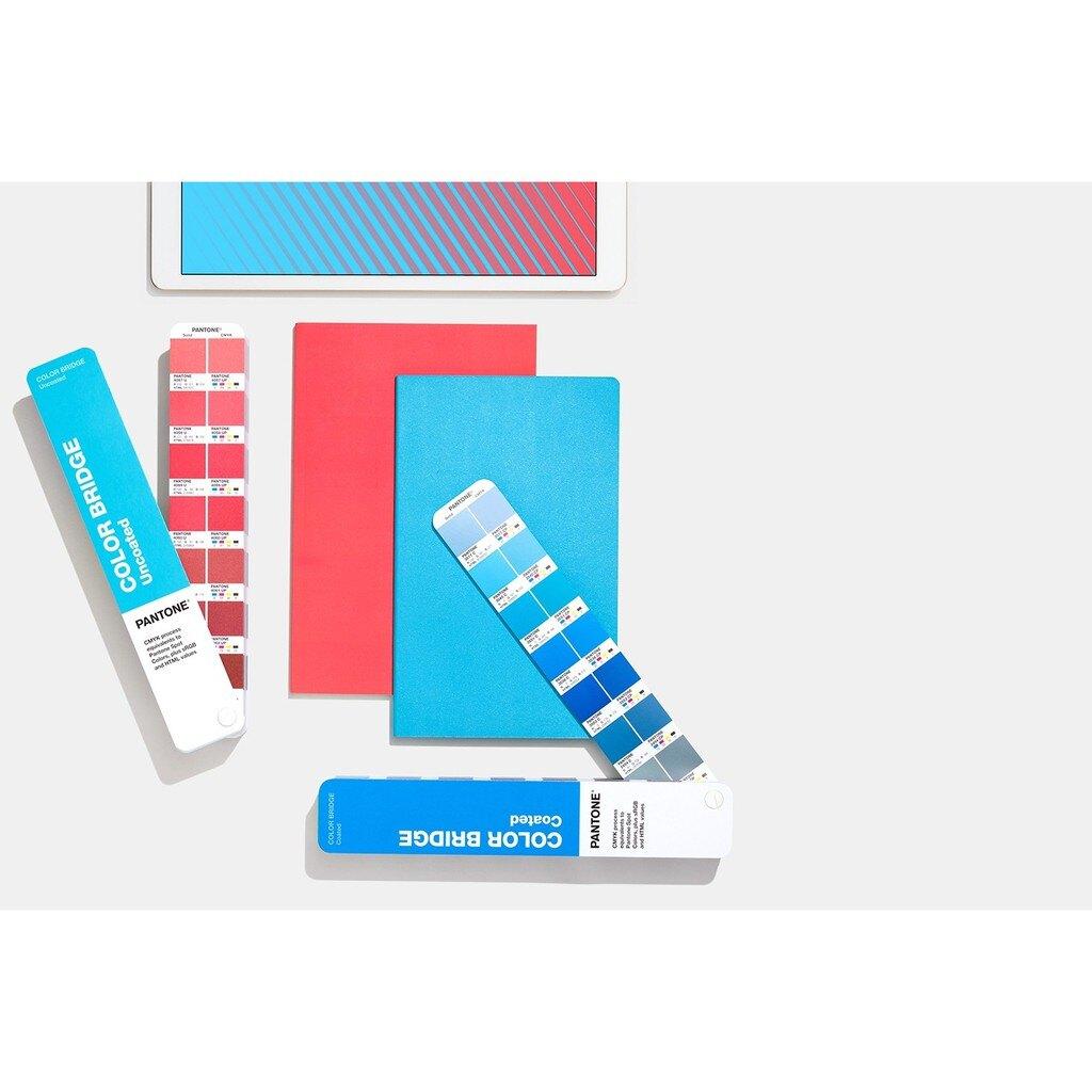 GP6102A 色彩橋樑指南(光面銅版紙&膠版紙套裝) PANTONE 色票 色彩參考 產品生產 設計 靈感 四色疊印