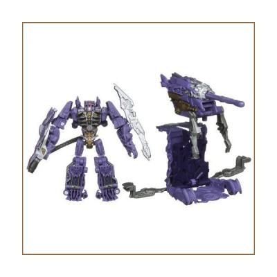 TRANSFORMERS DARK OF THE MOON CYBERVERSE SHOCKWAVE with Fusion Tank【並行輸入品】