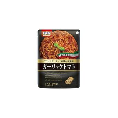 日本製粉 オーマイ フライドガーリックの豊かな風味 ガーリックトマト 2人前 240g
