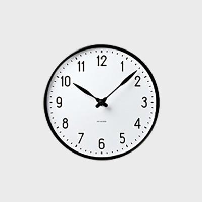 掛時計 壁掛け時計 ローゼンダール アルネ ヤコブセン STATION ステーション 160 国内正規品 ギフト 敬老の日