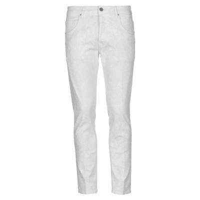 DON THE FULLER パンツ ホワイト 38 コットン 98% / ポリウレタン 2% パンツ