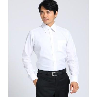 シャツ ブラウス マイクロドットブロードシャツ