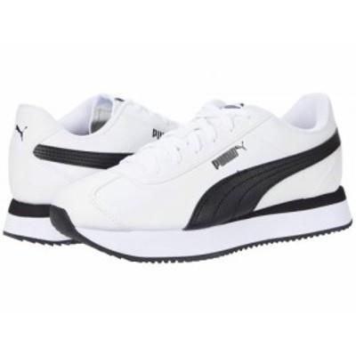 PUMA プーマ レディース 女性用 シューズ 靴 スニーカー 運動靴 Turino Stacked Puma White/Puma Black【送料無料】