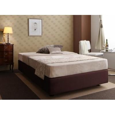ホテル仕様デザイン ダブルクッションベッド 〔ボンネルコイルマットレス付き〕 シングル
