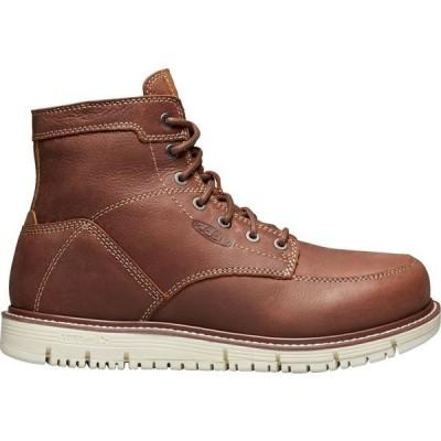 """キーン ブーツ&レインブーツ シューズ メンズ KEEN Men's San Jose 6"""" Work Boots Gingerbread"""