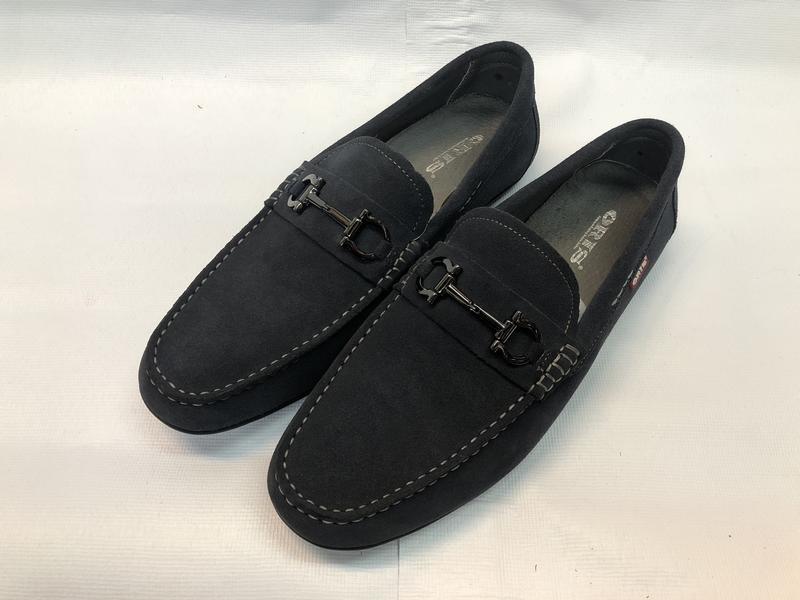 大降價 ORIS 皮鞋 休閒皮鞋 麂皮皮鞋 尺寸40~43 灰 男 SB16903B10【大自在運動休閒精品店】