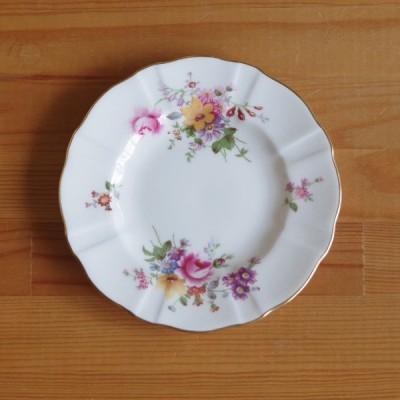 アンティーク 食器 ロイヤルクラウンダービー ポウジーズ デザートプレート ケーキ皿 16cm #200705-4