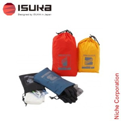 イスカ ( ISUKA ) スタッフバッグキット 4枚セット [ 3570000 ] アウトドア 収納 キャンプ ケース 登山 袋 山登り 荷物 整理 トレッキン