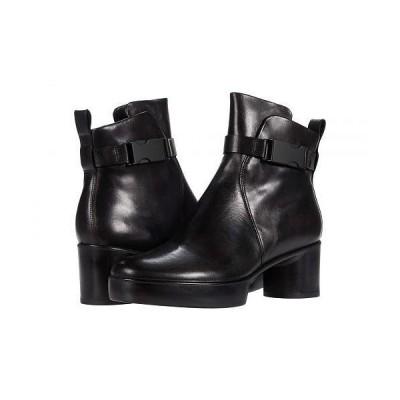 ECCO エコー レディース 女性用 シューズ 靴 ブーツ アンクル ショートブーツ Shape Sculptured Motion 35 Buckle Boot - Black