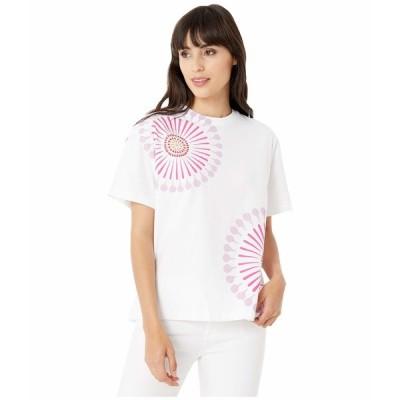 ポールスミス シャツ トップス レディース PS Sundial Print Tee Shirt White