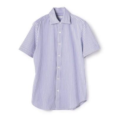 シャツ ブラウス ESTNATION / 鹿の子半袖シャツ