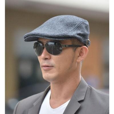 帽子メンズハンチングハットキャップぼうしウールジャガードハンチングメンズ帽子秋新作帽子メンズキャップ