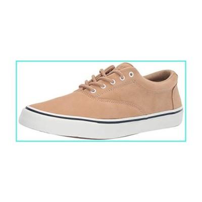 【新品】Sperry Mens Striper II CVO Washable Sneaker, Tan, 8(並行輸入品)