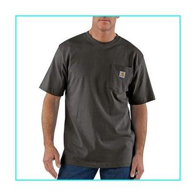 Carhartt メンズ K87 ワークウェア ポケット付き半袖Tシャツ (レギュラーおよびビッグ&トールサイズ) US サ